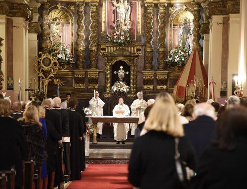 Festividad de San Juan Bautista, Patrono de la Orden de Malta – Misa Solemne, Basílica de Ntra. Sra. del Socorro