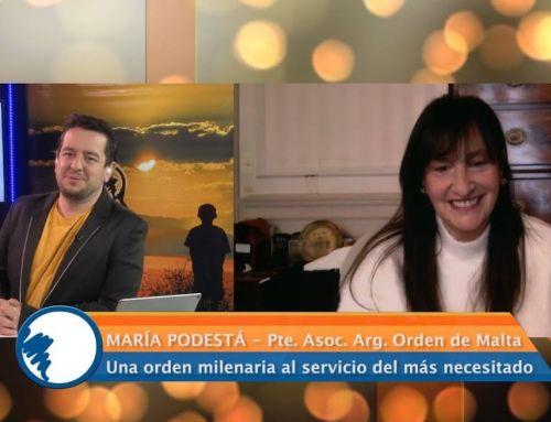 """""""Claves para un mundo mejor"""" – Entrevista a S.E Sra. María Podestá"""