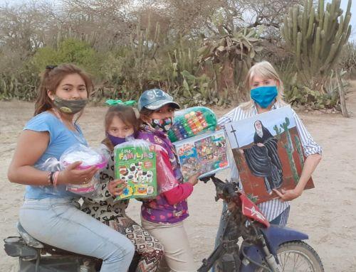 Día del niño: envío de ropa y juguetes a Santiago del Estero
