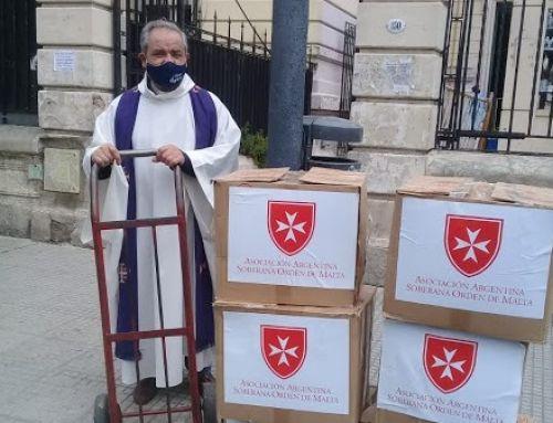 Donación a Santuario San Cayetano