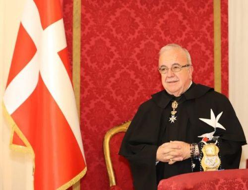 Frey Marco Luzzago elegido Lugarteniente del Gran Maestre de la Soberana Orden de Malta